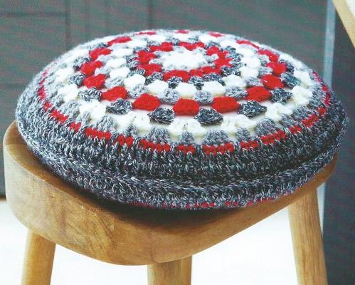 Чехол для круглой подушки