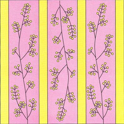 Рисовая вязка. Схема вязания