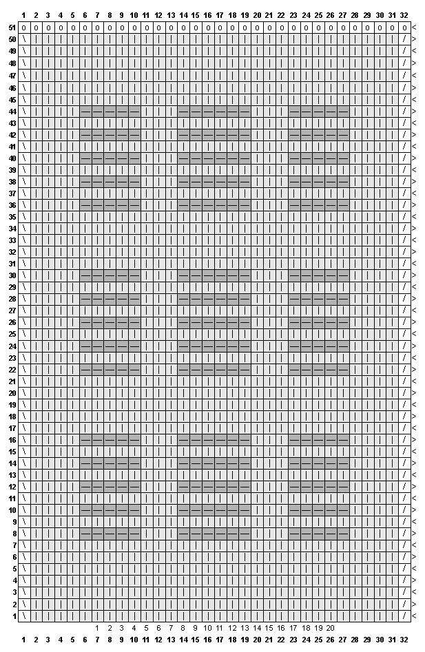 Вязание рисунок кирпичики 73