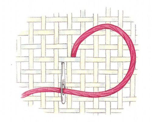 Вышивка бисером полукрестом для начинающих 79