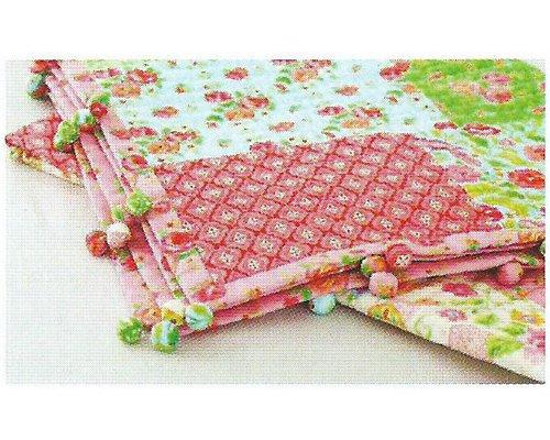 Одеяло из помпонов своими руками из ткани 45